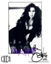 Cher Cherilyn Sarkisian SIGNED SIGNATURE AUTOGRAPH 10X8 REPRO PHOTO PRINT