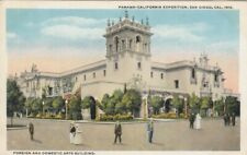 SAN DIEGO , California, 1915 Exposition; Foreign & Domestic Arts Building