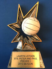 """Volleyball Trophy - Rare mold - 5 1/8"""""""