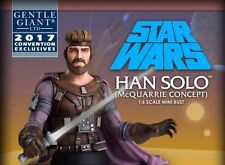 Gentle Giant LTD Star Wars Celebration McQuarrie Concept HAN SOLO 1/6 Scale Bust