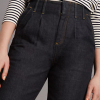 Ladies Jeans Straight Leg M&S Autograph Blue Ankle Grazer 6R BNWT Marks Women