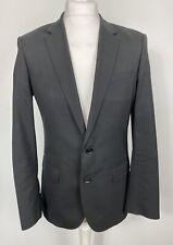 Hugo Boss Genta Black Blazer Jacket Stretch  Size UK 46