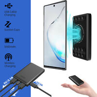 Portable Power Bank Wireless Charger Charging Samsung Galaxy Note 10+/9/8 S10/S9