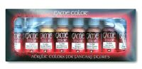 AV Vallejo Game Color Metallic Colours Acrylic Set For Models