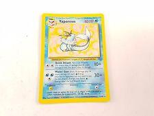 Pokemon TCG Card Jungle Set Vaporeon 12/64 Fossil Rare Holo VV