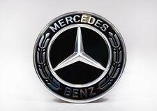 Mercedes Benz original Emblem A0008171701 schwarz Motorhaube Sternersatz W212