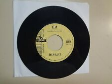 """HOLLIES: Stay 2:08-Now's The Time 1:53-U.S. 7"""" 64 Liberty Records INC. 55674 DJ"""