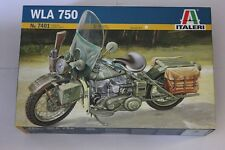 Italeri 7401 WLA 750 American Motorcycle Plastic Kit 1 9th Scale TRACKED 48 Post