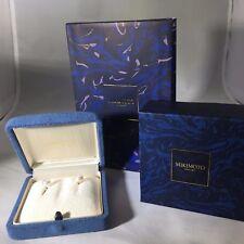 Mikimoto AAA Akoya Pearl 8mm Yellow Gold  Earrings NWT List  $1990