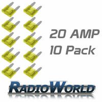 10 20AMP Mini Blade Fuses/Fuse Automotive Van / Car