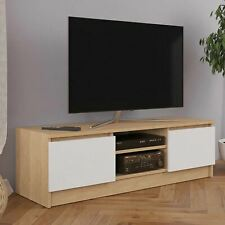 Wooden Modern TV Cabinet Stand Unit Table With Shelves Cupboard Home Furniture