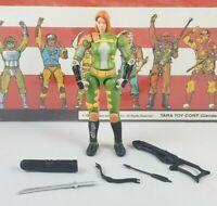 Original 2004 GI JOE SCARLETT V4 not complete UNBROKEN figure ARAH Cobra