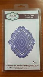 Creative Expressions Californian Collection Decorative Frames Set B 5 Dies