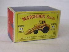 REPRO BOX MATCHBOX KING SIZE K - 1 Weatherhill hydraulic Shovel