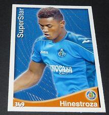 HINESTROZA SUPERSTAR GETAFE FOOTBALL CARD LIGA 2014-2015 MUNDICROMO PANINI