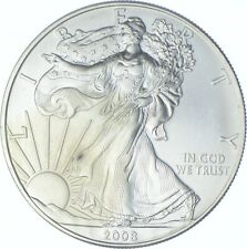 Better Date 2008 American Silver Eagle 1 Troy Oz .999 Fine Silver *406
