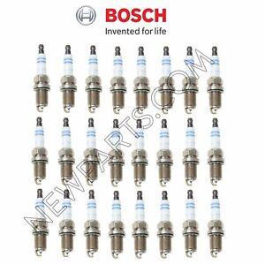 For Maybach 57 Mercedes R230 W220 Set of 24 Spark Plugs Bosch Iridium