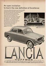 1959 LANCIA Appia 4-door Sedan Series III Suicide Doors Vintage Print Ad