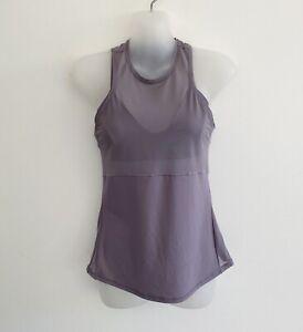 Lululemon Womens Size 4 US / 8 AUS Tank Top Blue Grey Active Gym Wear