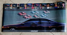 1991 Sunday Dreamin Drivin Ford Thunderbird Race Car Poster Allison Kulwicki