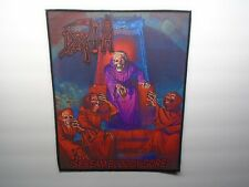 DEATH SCREAM BLOODY GORE SUBLIMATED BACK PATCH