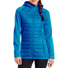 Under Armour WEREWOLF Womens Coldgear Zip up Hooded Jacket Small Blue NEW