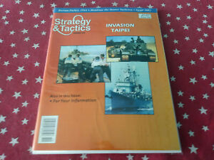 Strategy & Tactics Magazine Decision Games punched #202 Invasion Taipei