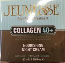 NIB Sealed Jeunesse Collagen 40+ Nourishing Night Cream 1.69 fl oz / 50 ml