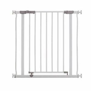 Dreambaby® Ava Slimline Narrow No Screw Slim Baby Stair Gate 61-68cm - White