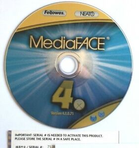 Fellows: Neato MediaFace 4 CD/DVD Other title label design software