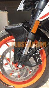 KTM Duke 390 2017+ Front Fender Twill Carbon Fiber Front Mudguard Glossy