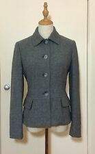 Banana Republic Wool Herringbone Jacket/Blazer (Equestrian). Size US 4/AU 8.