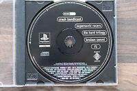Playstation 1 PS1  Demo mit Crash Bandicoot, Supersonic Racers usw.