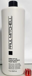 Paul Mitchell Firm Style Freeze and Shine Super Spray Choose Your Size