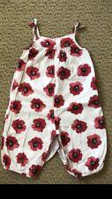 On Infant Girl Floral Romper - Size 6-12 Months