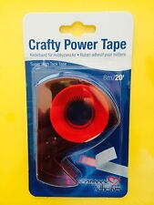 "Crafty Power Tape Scrapbook Adhesives 3L  3/8"" X 20'  Tacky    FREE SHIPPING!!!"