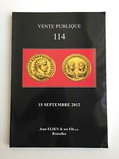 JEAN ELSEN COIN AUCTION CATALOG VENTE PUBLIQUE 114 SEP 2012 ANCIENT WORLD BRUSS