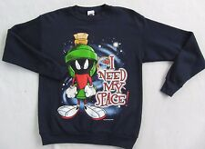 "Looney Tunes Marvin Martian ""I Need My Space"" Men's Women's Sweatshirt - Medium"