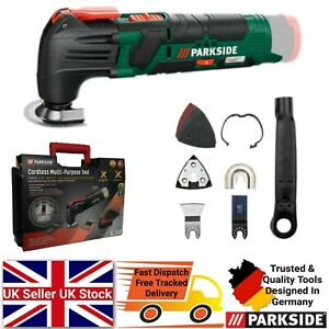 Parkside 12V Cordless Multi-Purpose Tool - Battery & Charger NOT Included