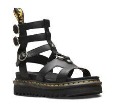 Dr Martens Adaira Gladiator Sandals Black Temperley Leather NEW! - UK 5 EU 38