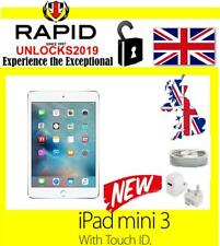 New Apple iPad mini 3 16GB, Wi-Fi, Retina Screen, 7.9in - Silver MGNV2B/A