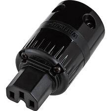 Wattgate 320 evo Black IEC Power Connector