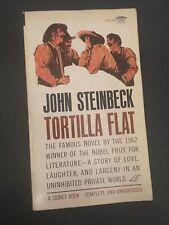 """""""TORTILLA FLAT""""  *Steinbeck-Paperback 1963"""