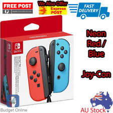 Nintendo Switch Neon Red Neon Blue Joy Con Wireless Controller Set Joy-Con