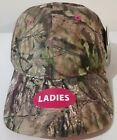 Ladies Mossy Oak Camouflage, Pink Highlights, Adjustable Baseball Cap New