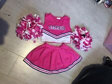 Girls cheer leader costume / outfit age 7-8