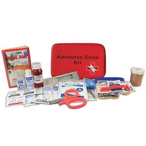 Dive 1st First Aid Kit Advanced Scuba Diving Soft Case FAK433