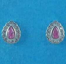 Cubic Zirconia Stud Fine Diamond Earrings