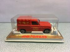 Diecast Majorette Renault 4L Fire Pompiers No.230 Red Mint in Box