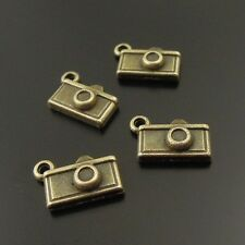 90PCS Antique Bronze Tone Alloy Cute Camera Charms Pendant Finding